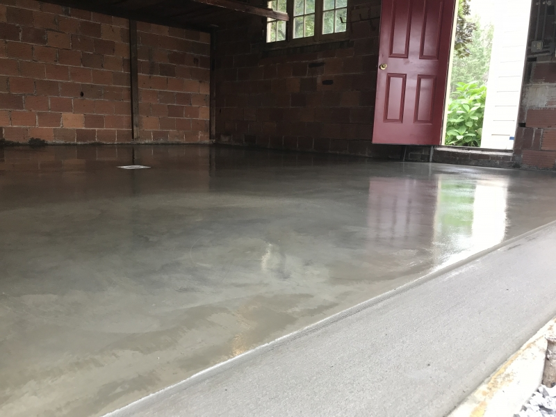gloss garage floor zajdel